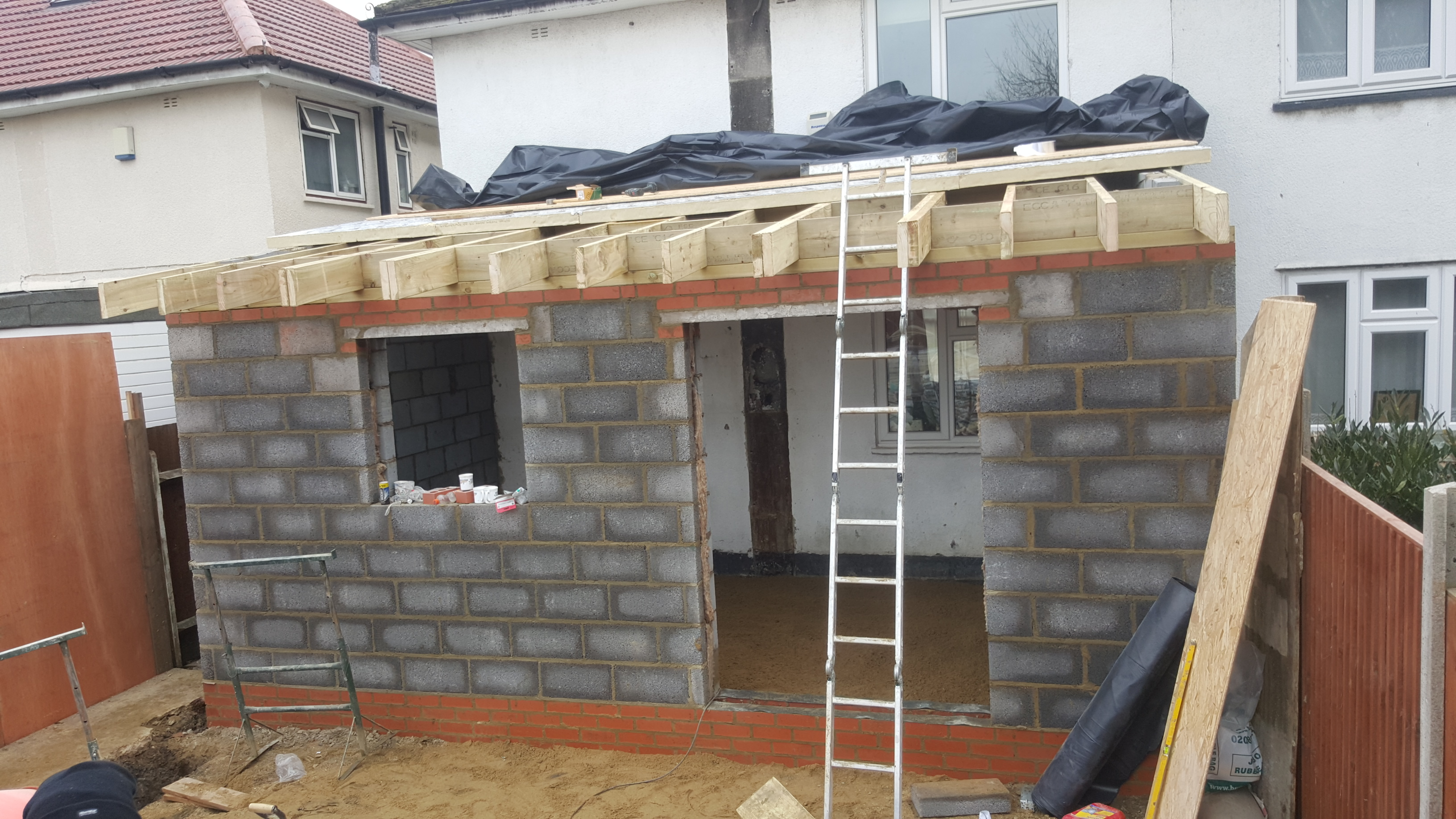 House extension romania build in harrow london for Houses to build